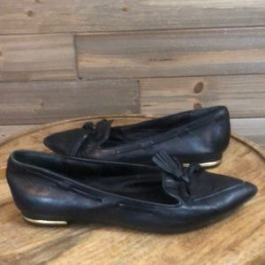 ⭐️Isaac Mizrahi Black Pointed toe Loafer Size5.5⭐️
